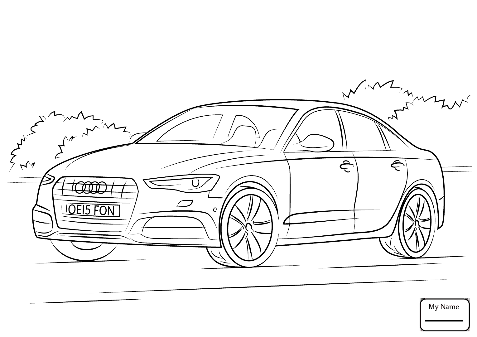 Audi Drawing At Getdrawings