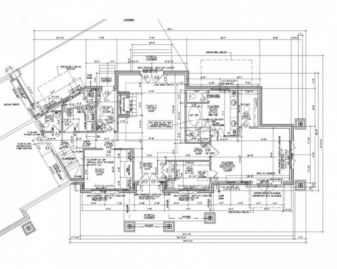 Autocad House Drawing At GetDrawings.com