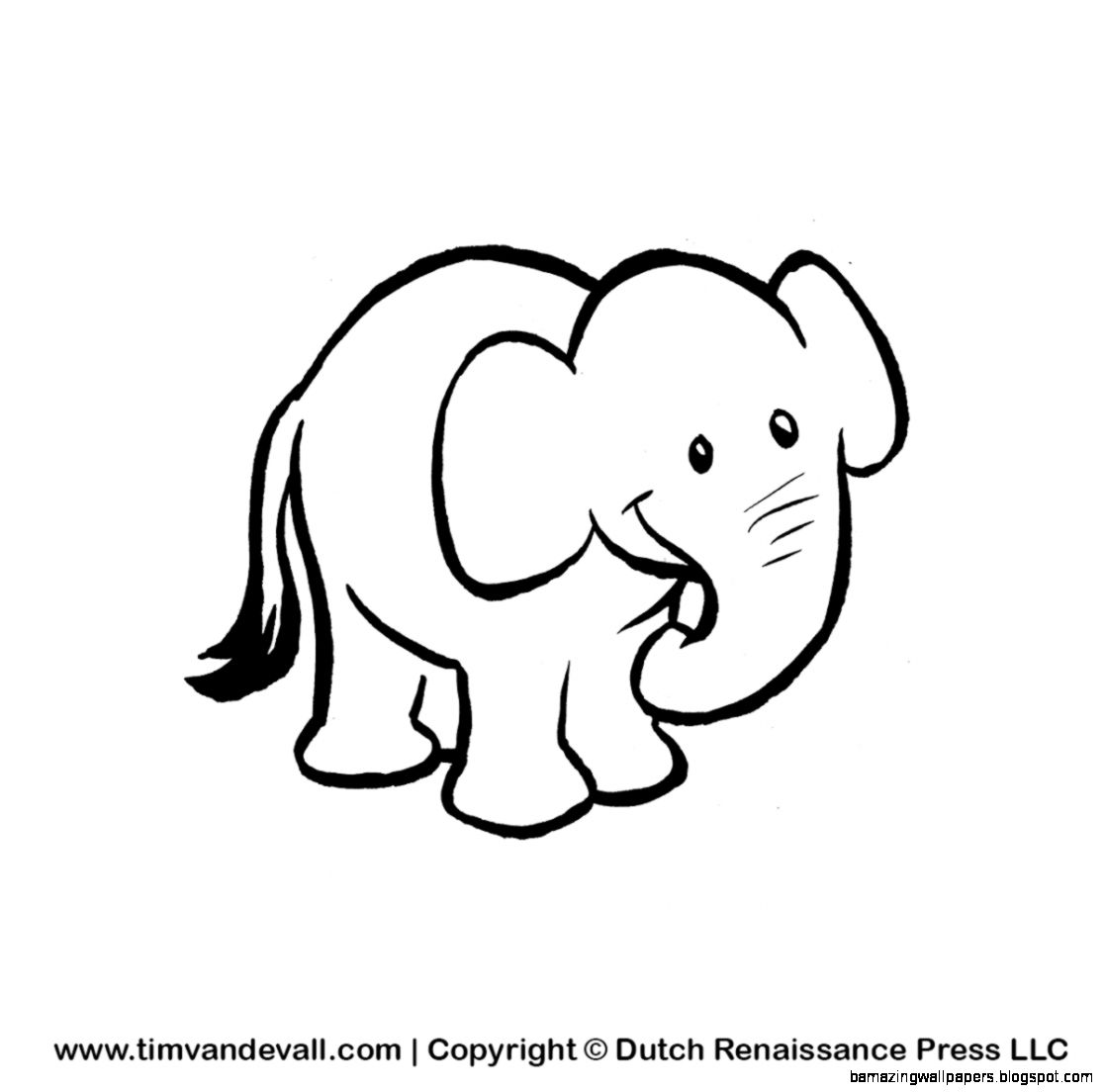 Baby Elephant Drawing Step Step At Getdrawings