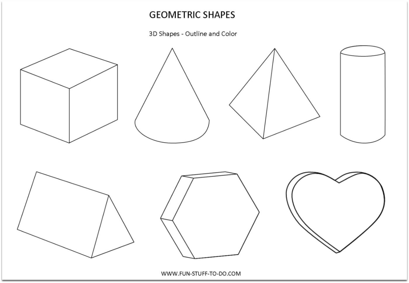 Basic Shapes Drawing At Getdrawings