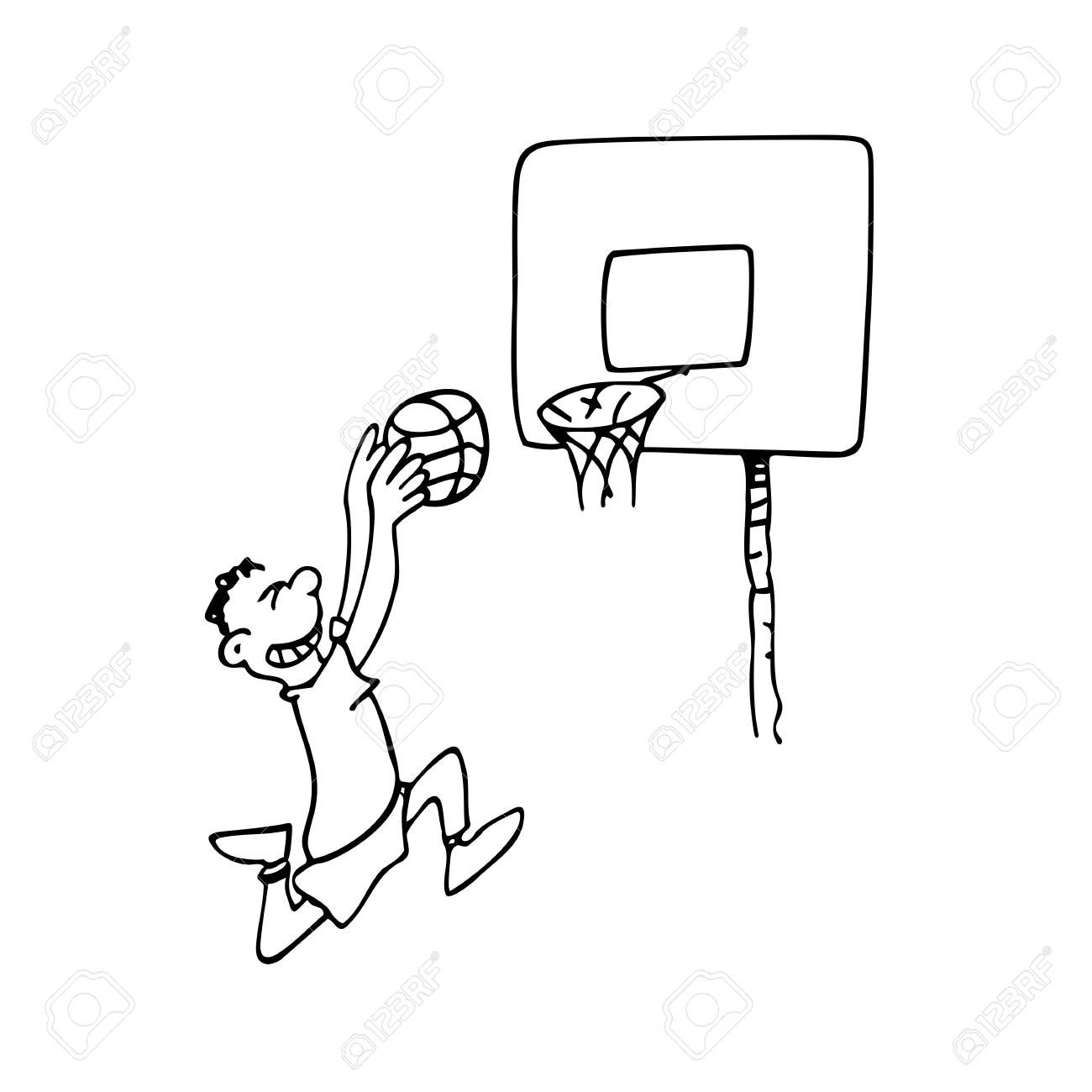 Basketball Net Drawing At Getdrawings