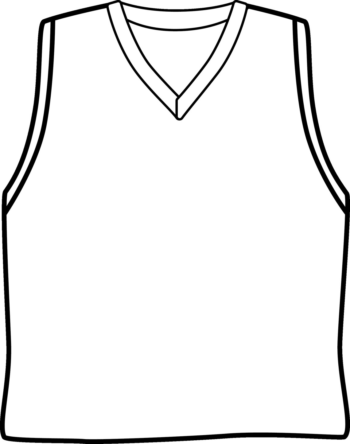 Download Basketball Jersey Drawing at GetDrawings | Free download