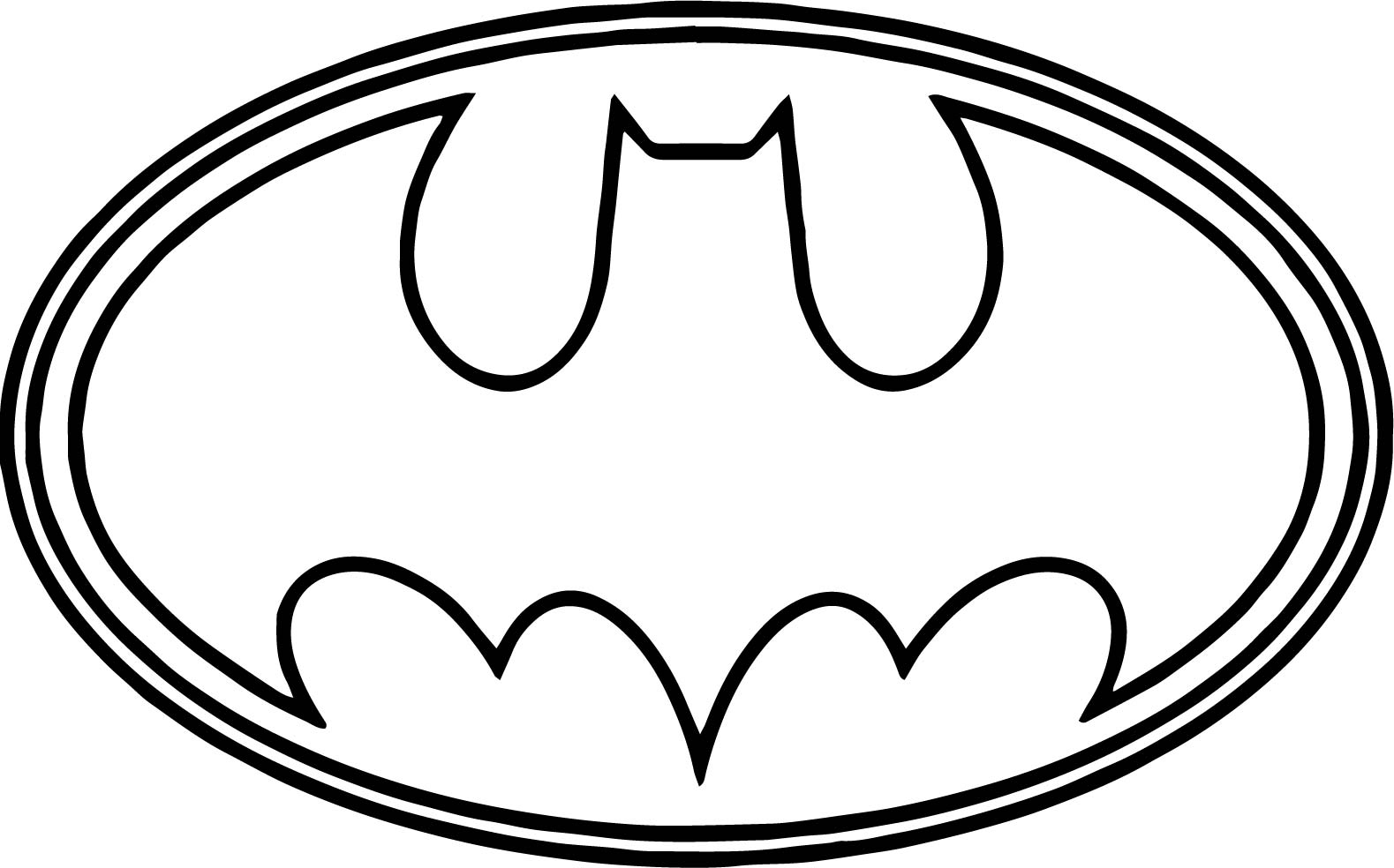 Batman Symbol Drawing Step By Step At Getdrawings