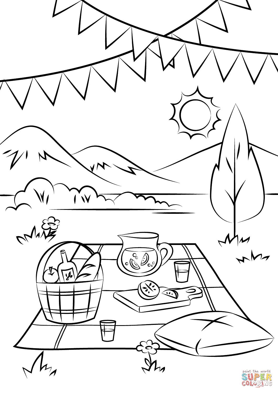 Beach Scenes Drawing At Getdrawings