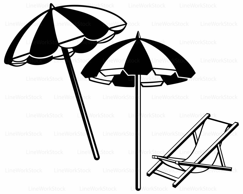 Beach Umbrella Clipart Images