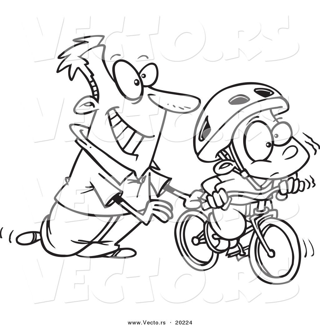 Bicycle Cartoon Drawing At Getdrawings