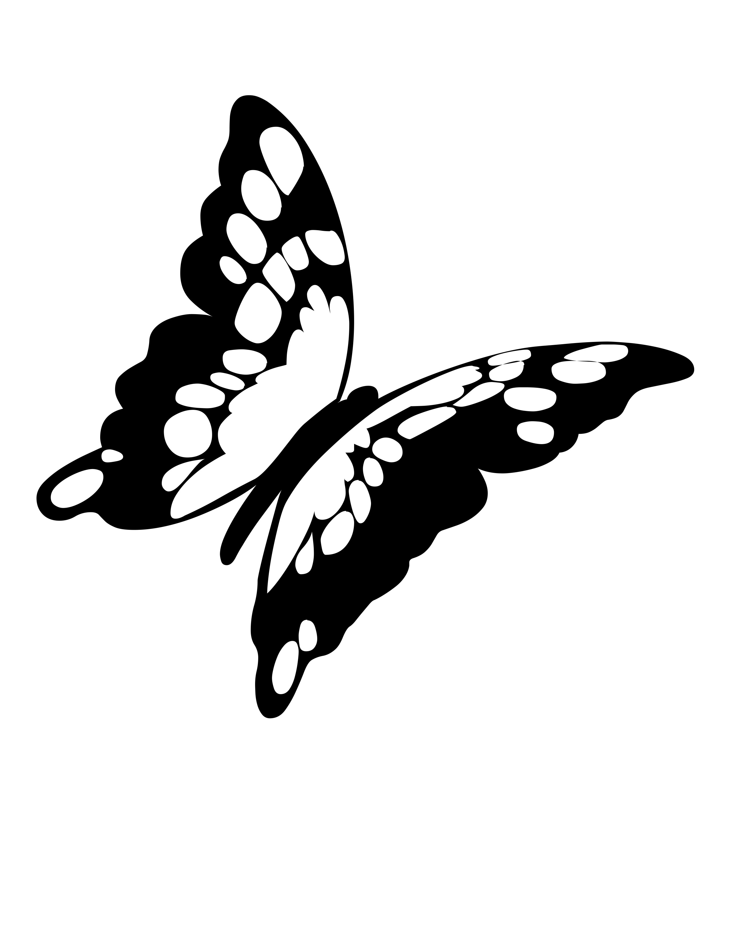 Black And White Butterfly Drawing At Getdrawings