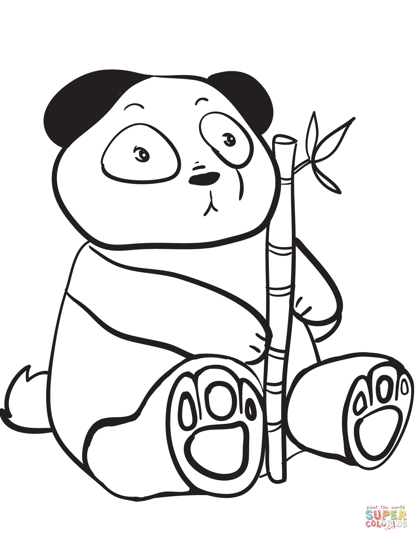 Black And White Panda Drawing At Getdrawings
