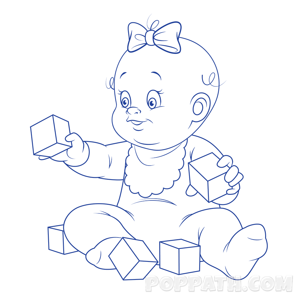 1000x1000 how to draw a baby playing with blocks pop path