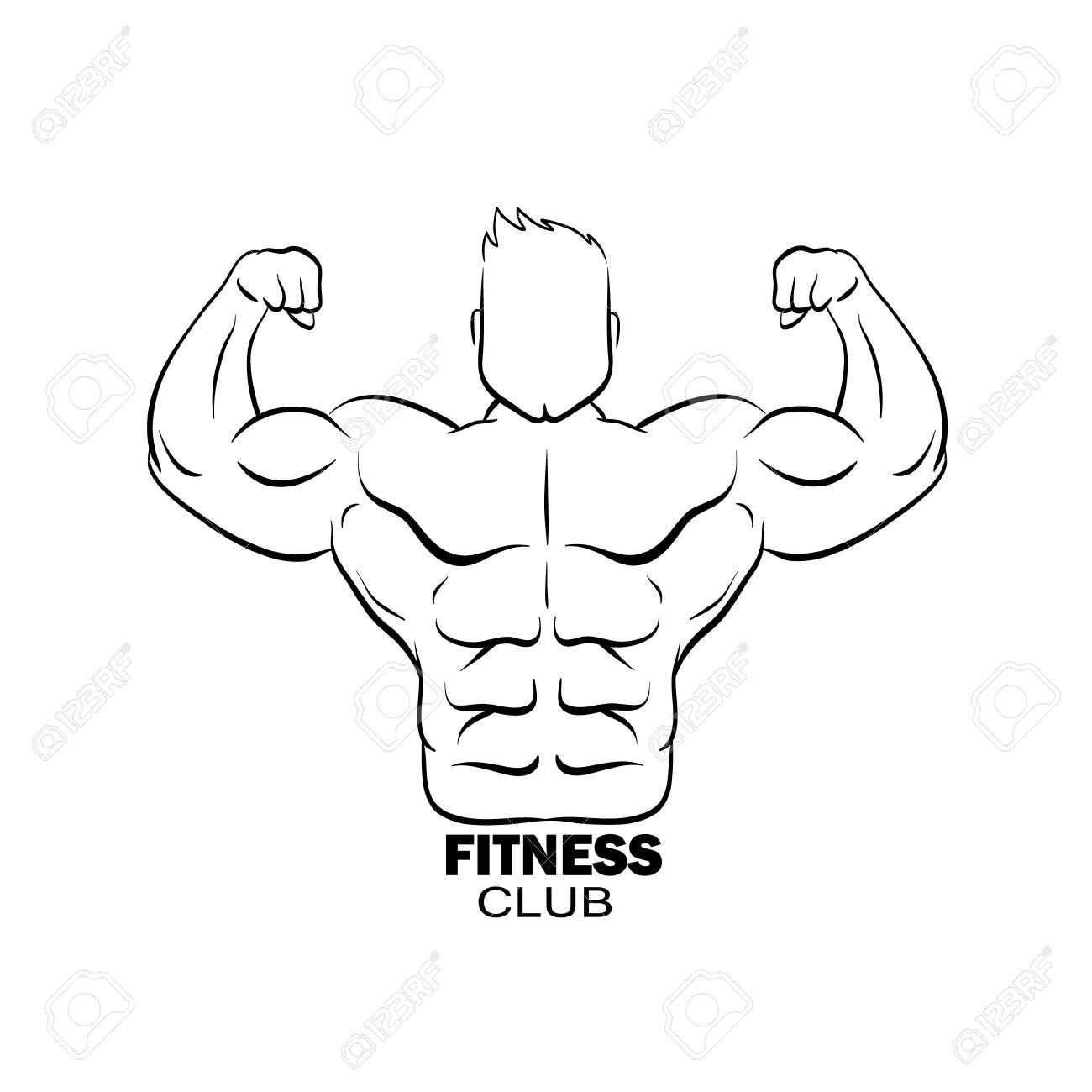 Bodybuilder Drawing At Getdrawings