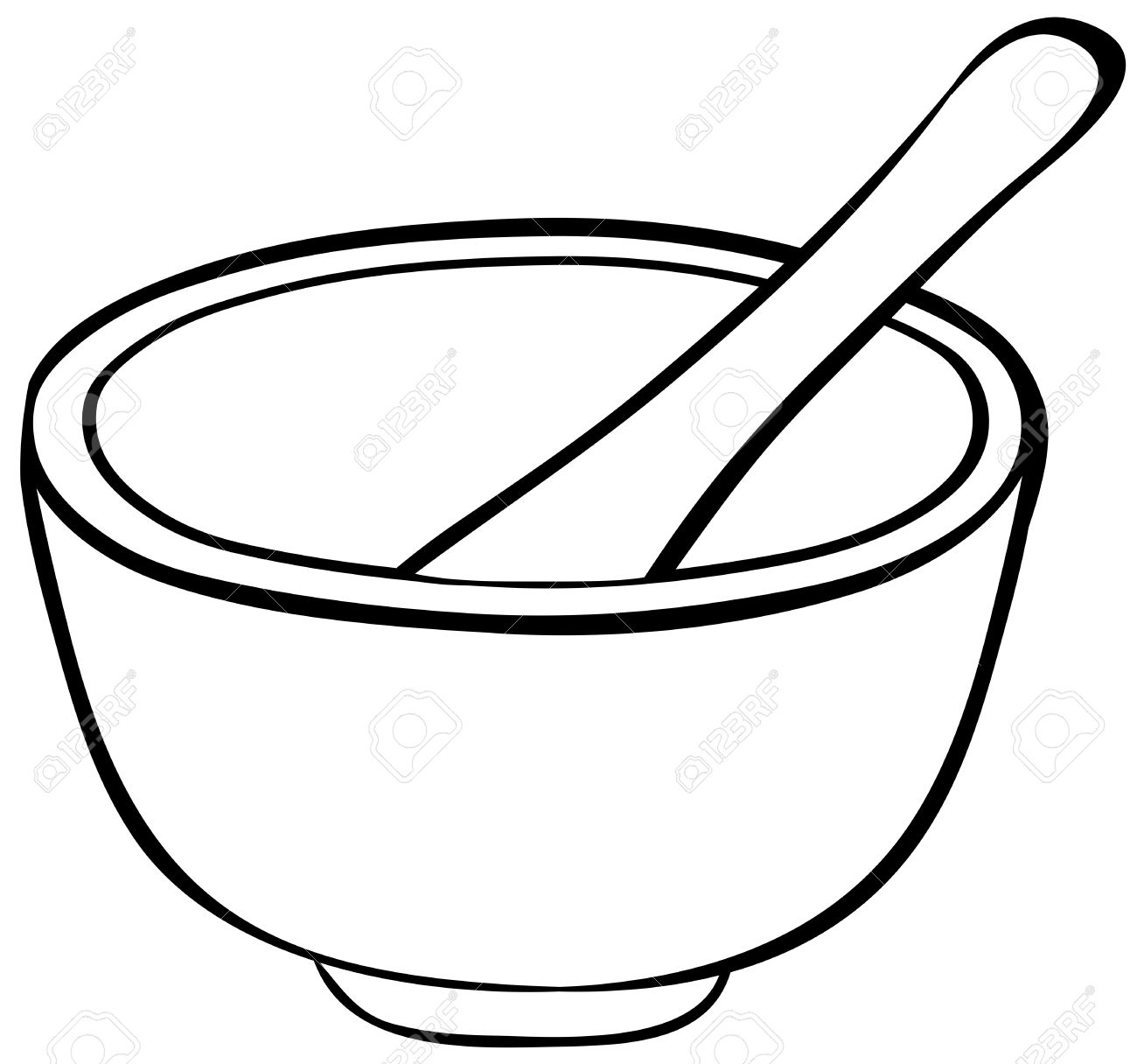 Bowl Of Chili Drawing At Getdrawings