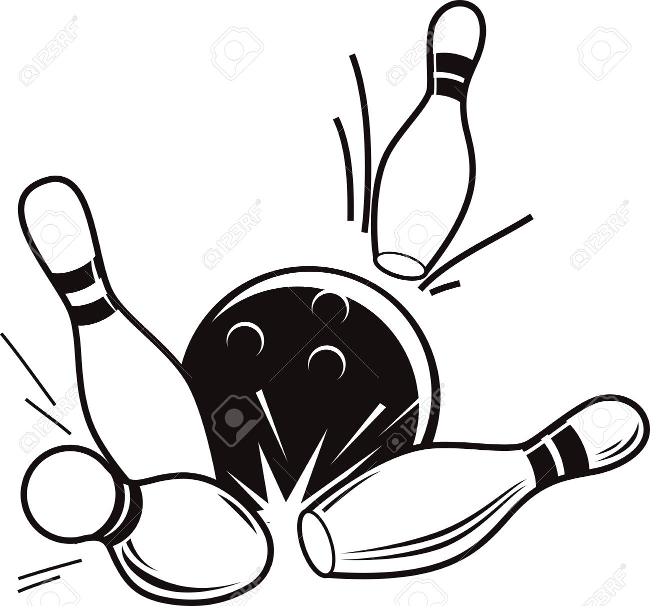 Bowling Alley Drawing At Getdrawings