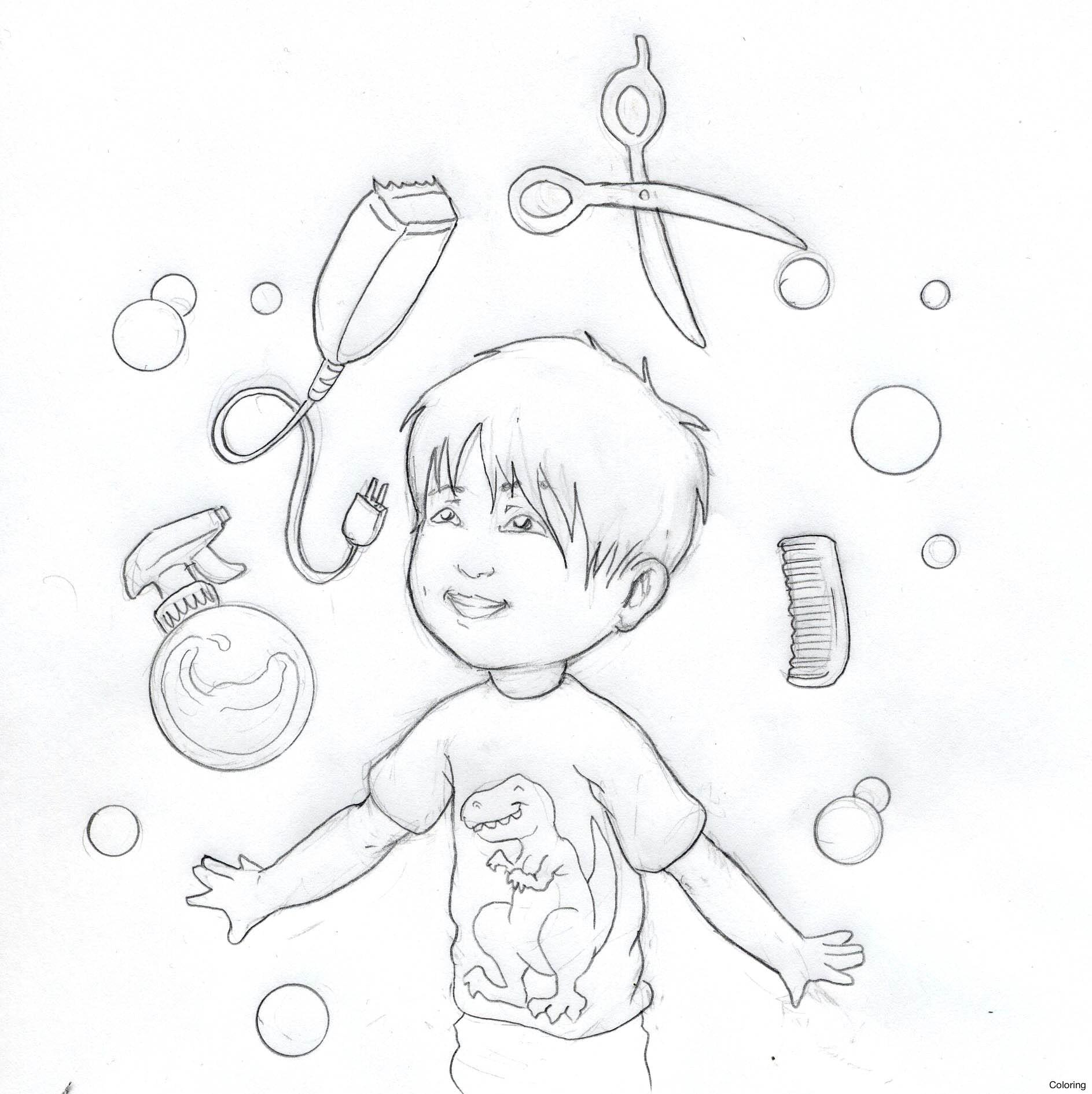 Boy Hairstyle Drawing At Getdrawings