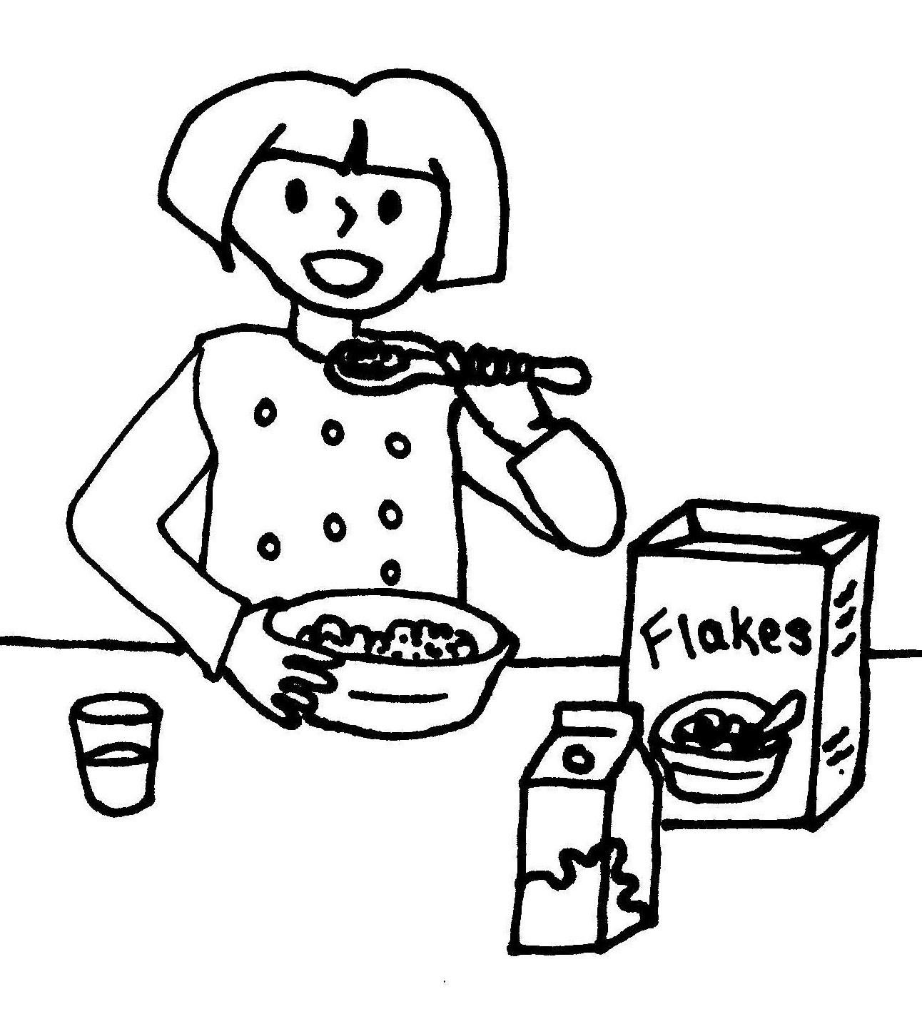 Breakfast Drawing At Getdrawings