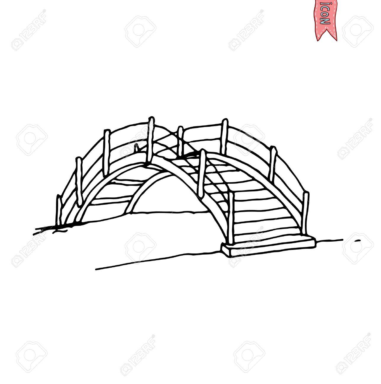Bridge Drawing At Getdrawings