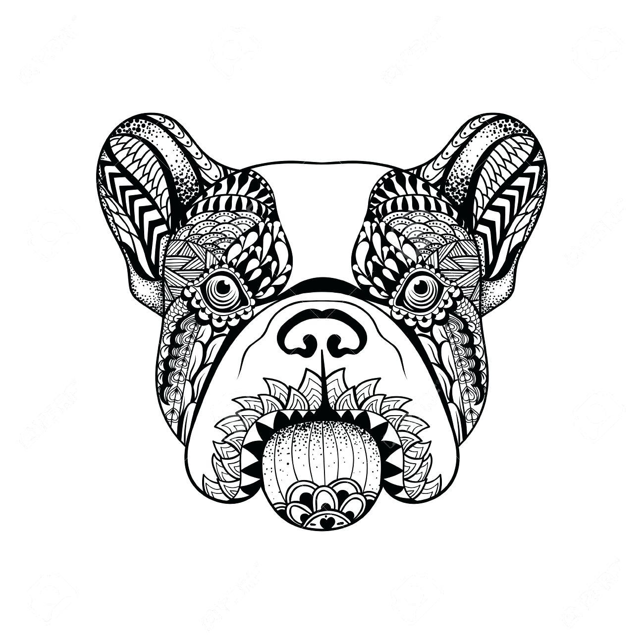 Bulldog Drawing Easy At Getdrawings
