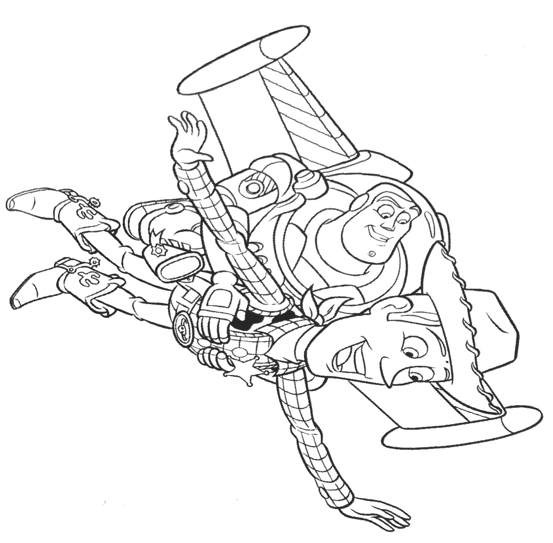 Buzz And Woody Drawing At Getdrawings