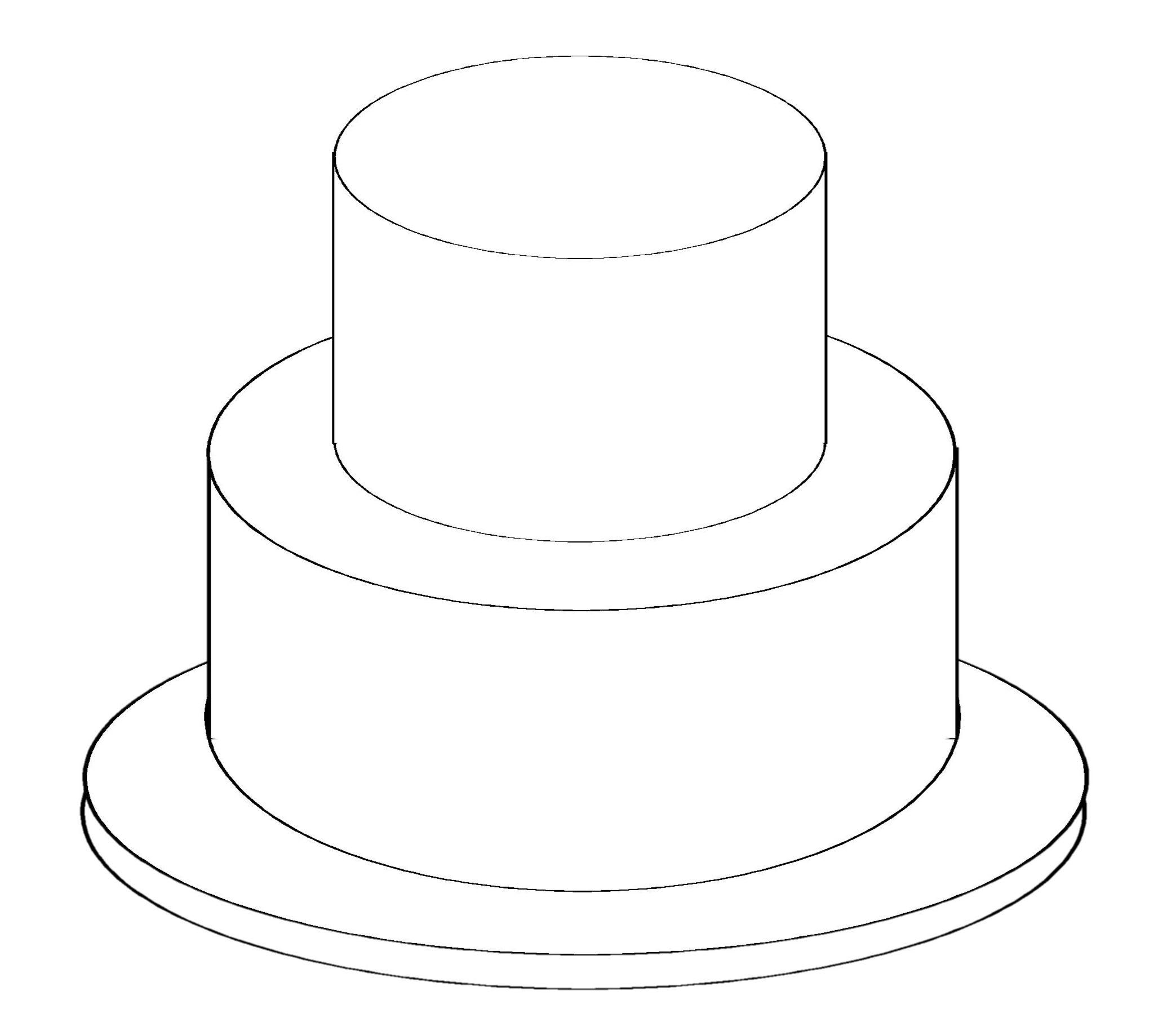 рисунок торта на день рождения поэтапно карандашом