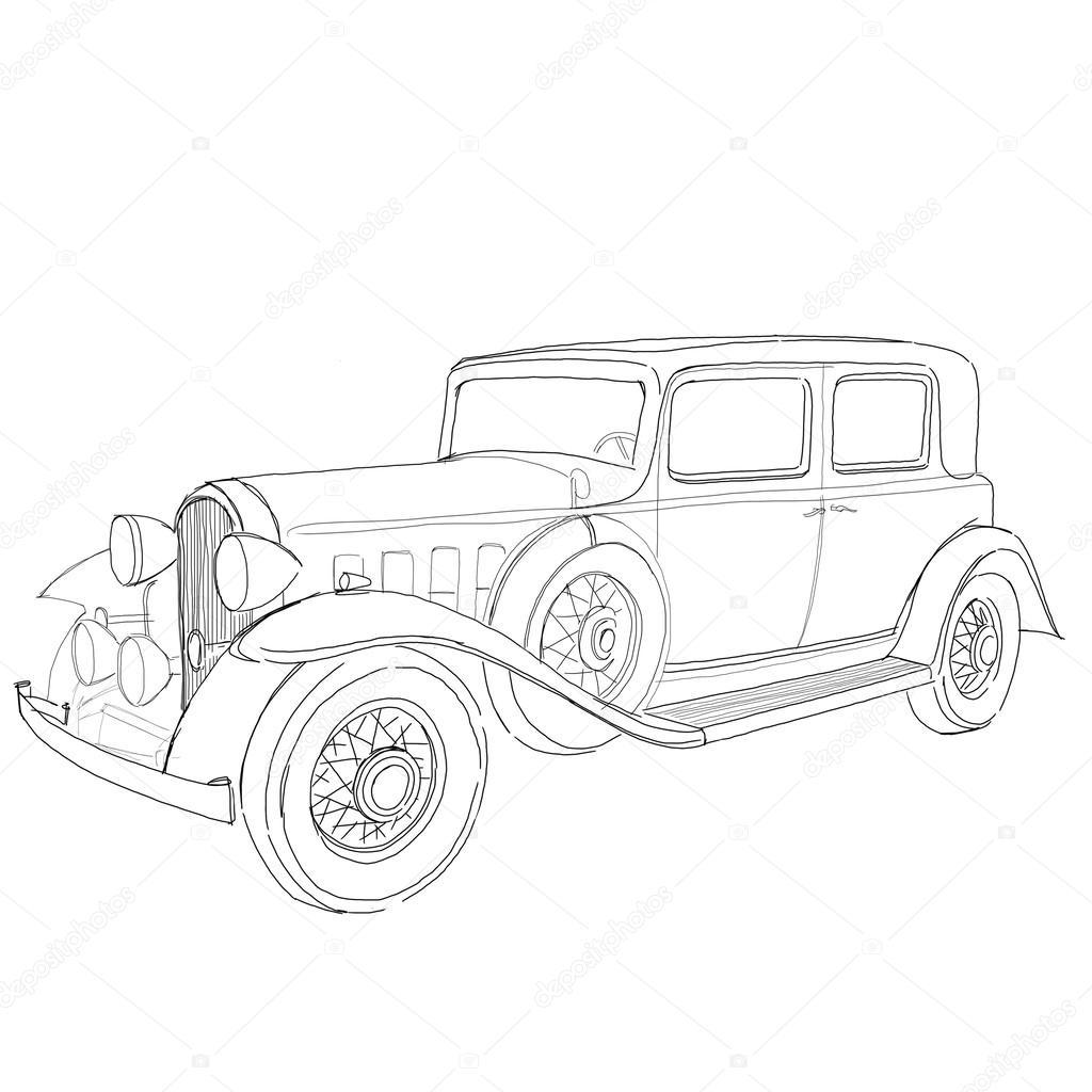 Car Dashboard Drawing At Getdrawings