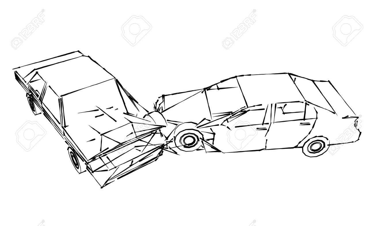 The Best Free Accident Drawing Images Download From 140