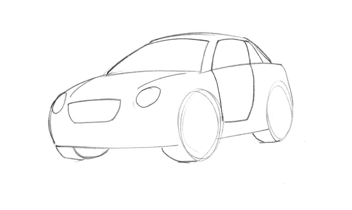 Car drawing for preschoolers at getdrawings free for personal