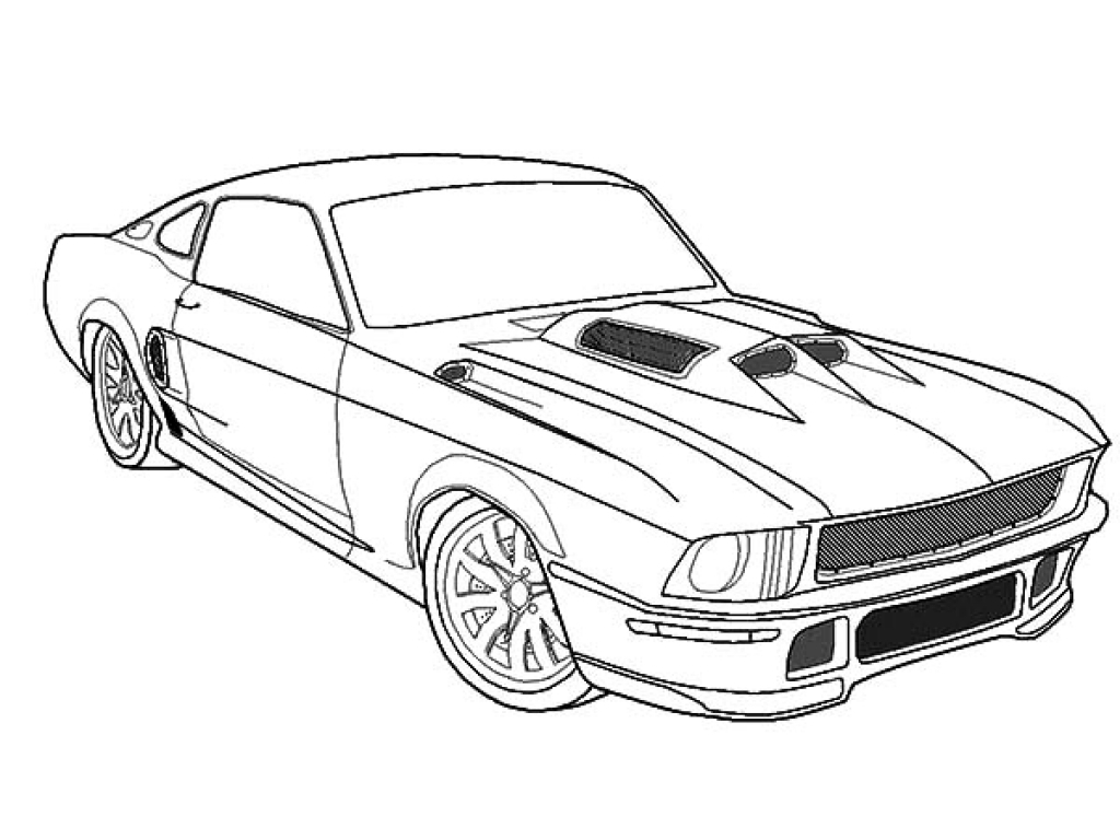Car Images For Drawing At Getdrawings