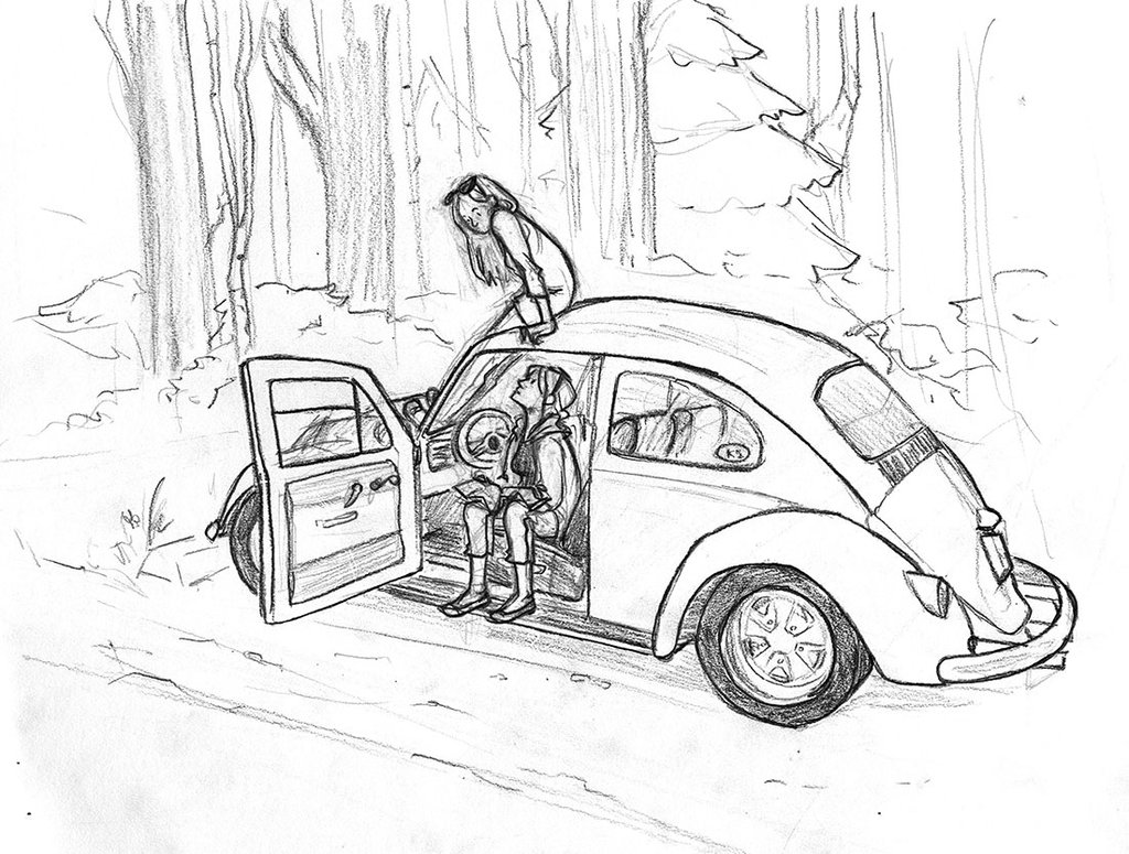 1024x775 grimey car drawing by weeaboo sensei on deviantart