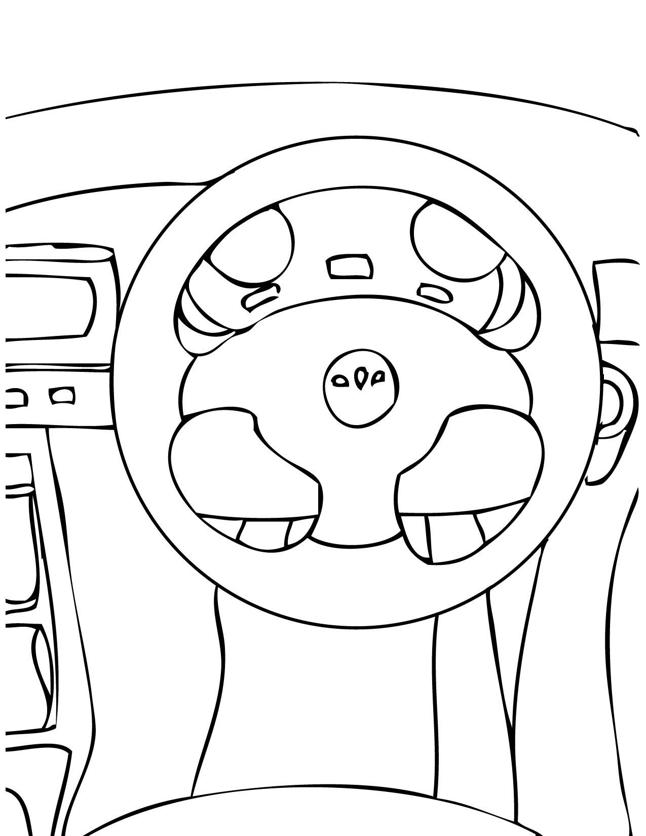 Car Steering Wheel Drawing At Getdrawings