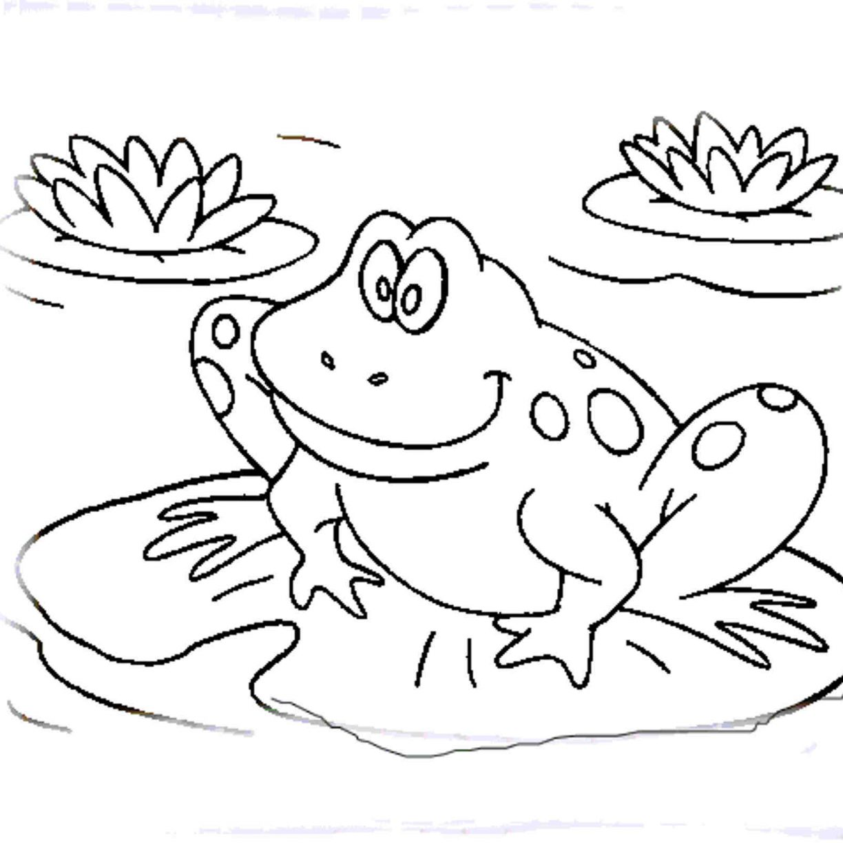 Cartoon Frogs Drawing At Getdrawings