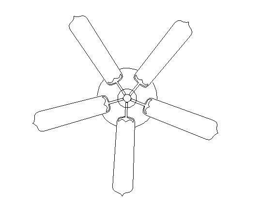 ceiling fan drawing symbol