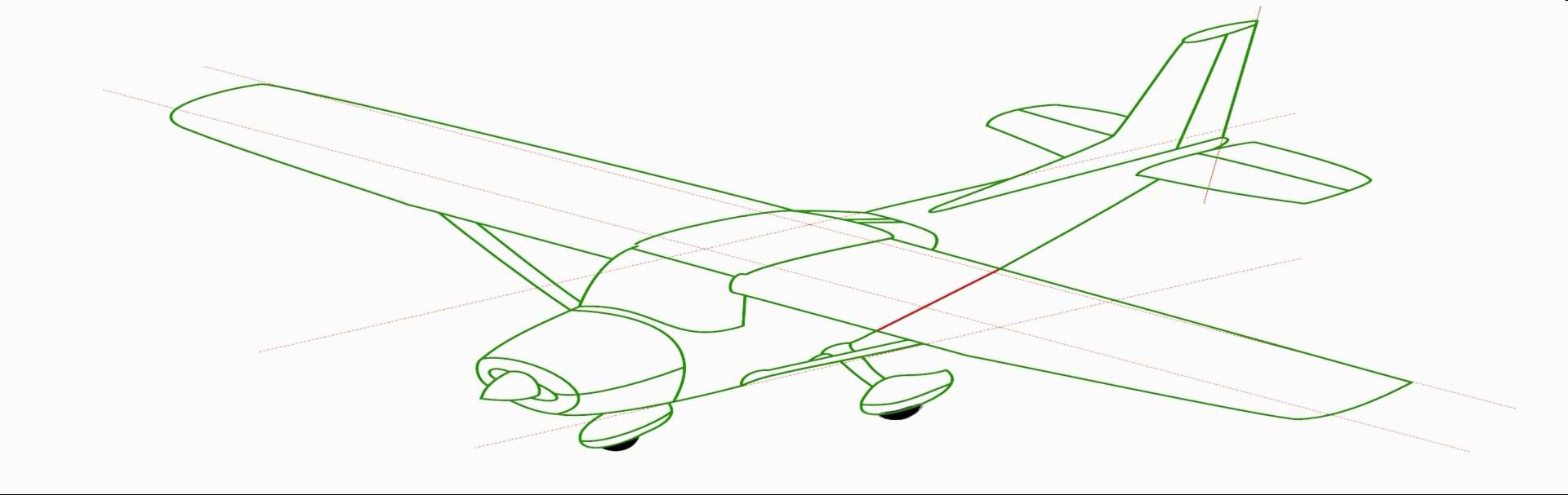 Cessna 172 drawing at getdrawings free for personal use cessna