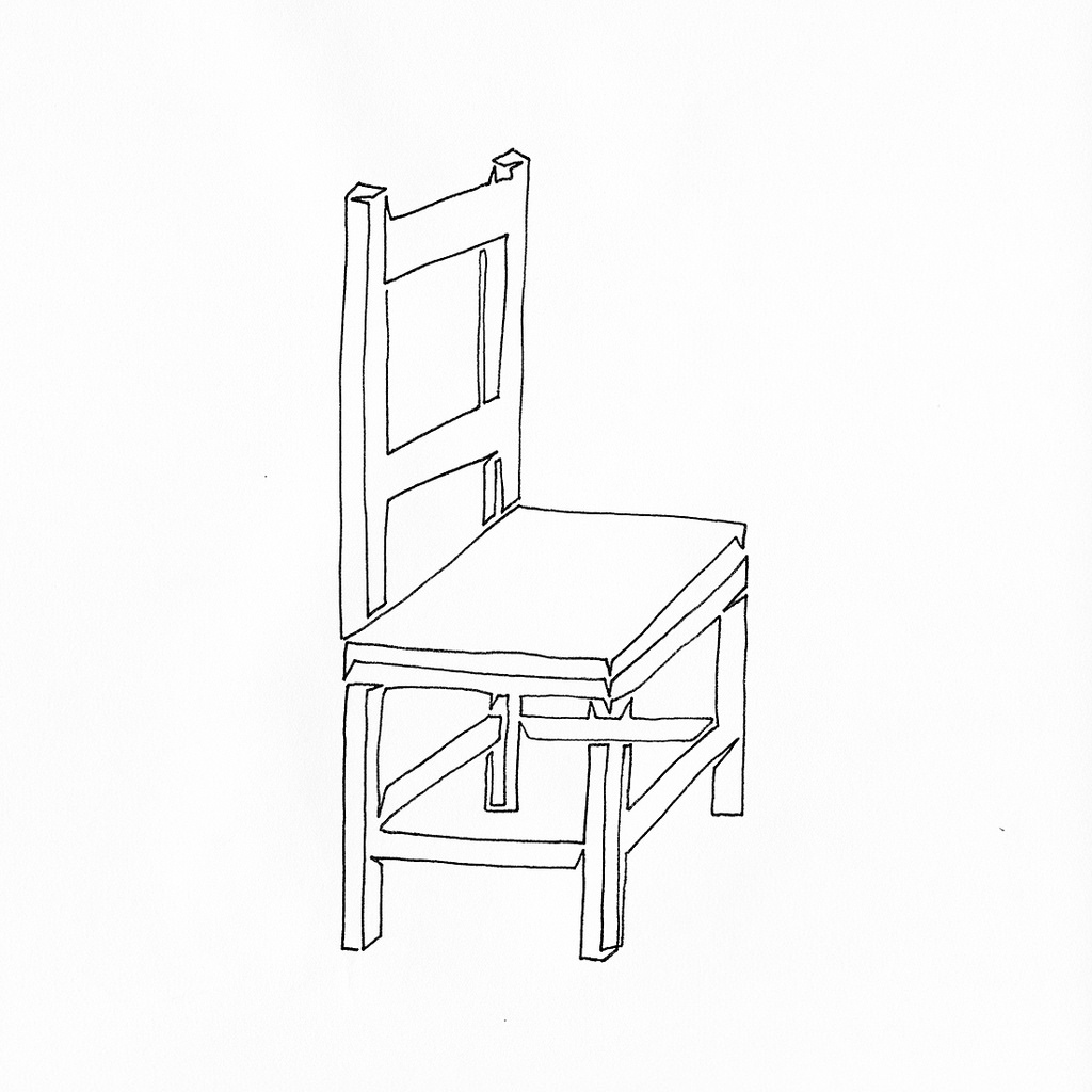 Chair Drawing At Getdrawings