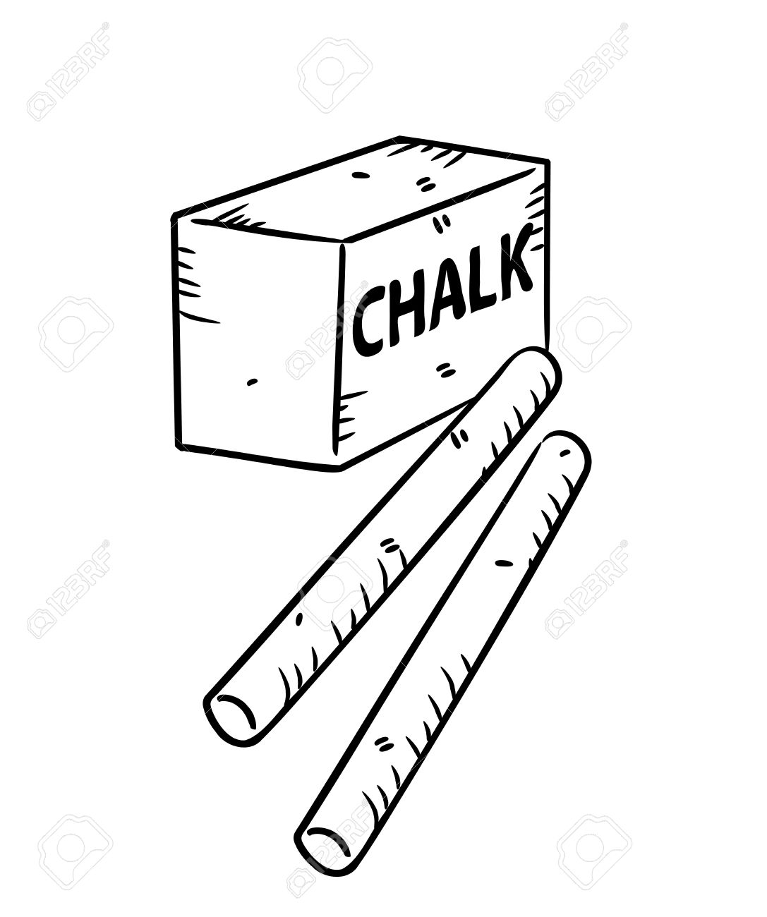 Chalk Drawing Clip Art At Getdrawings