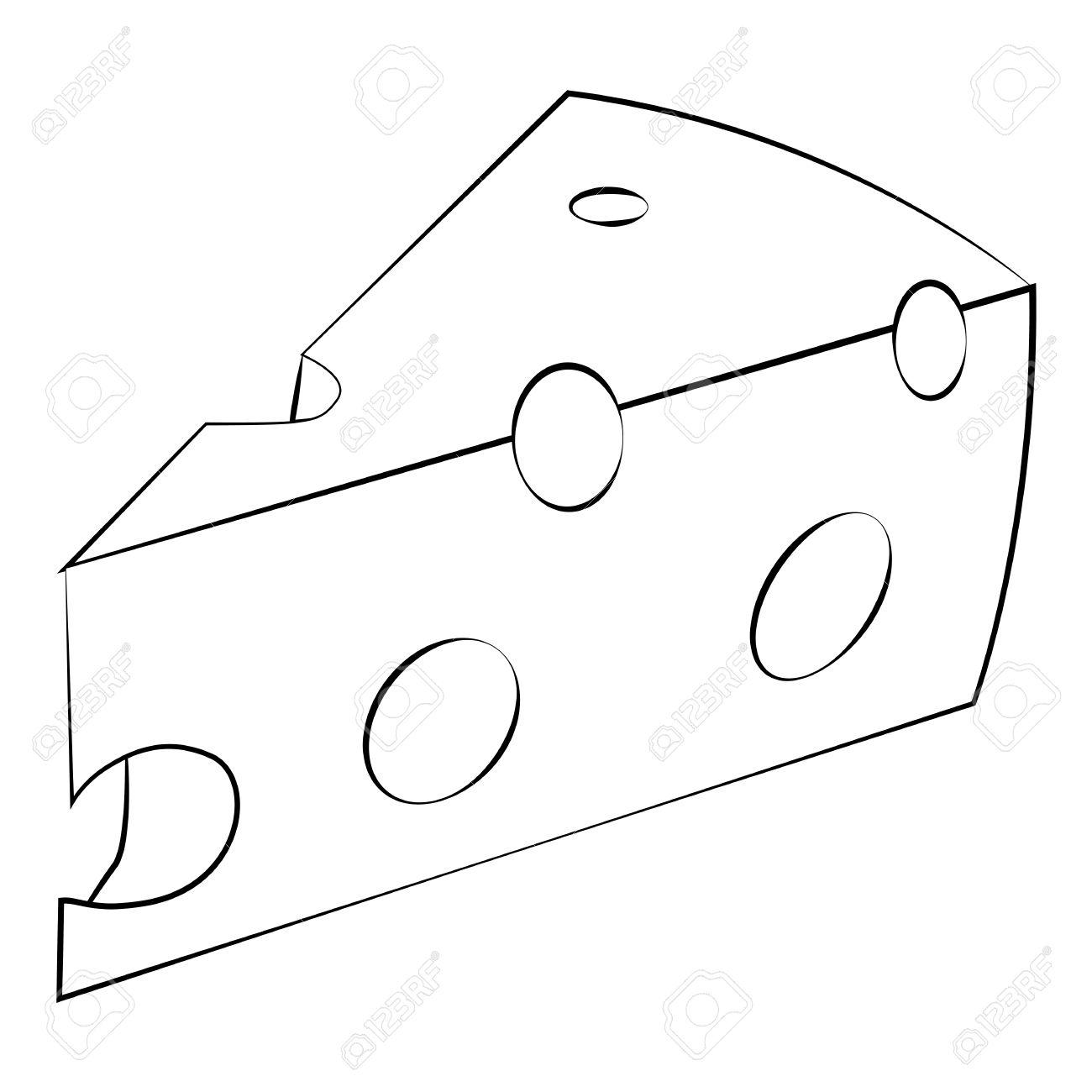 Cheese Drawing At Getdrawings