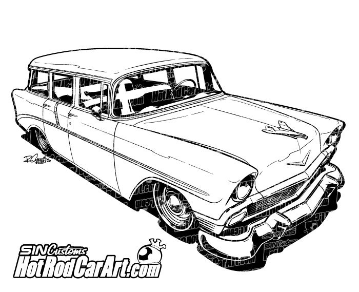 C10 Chevy 1967 Drawings Truck