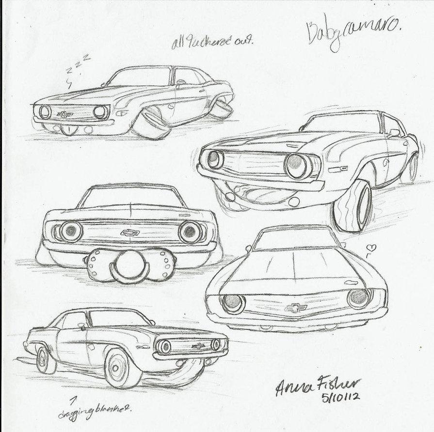 895x892 baby camaro sketches by jasondoggy101 on deviantart