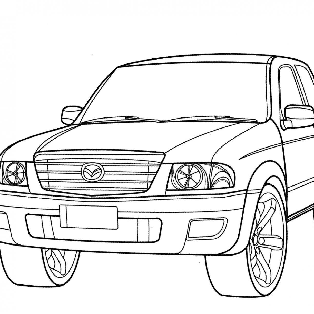 Chevy Truck Drawing At Getdrawings