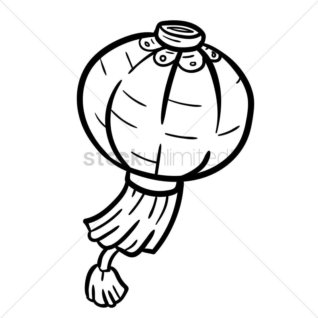 Chinese Lantern Drawing At Getdrawings