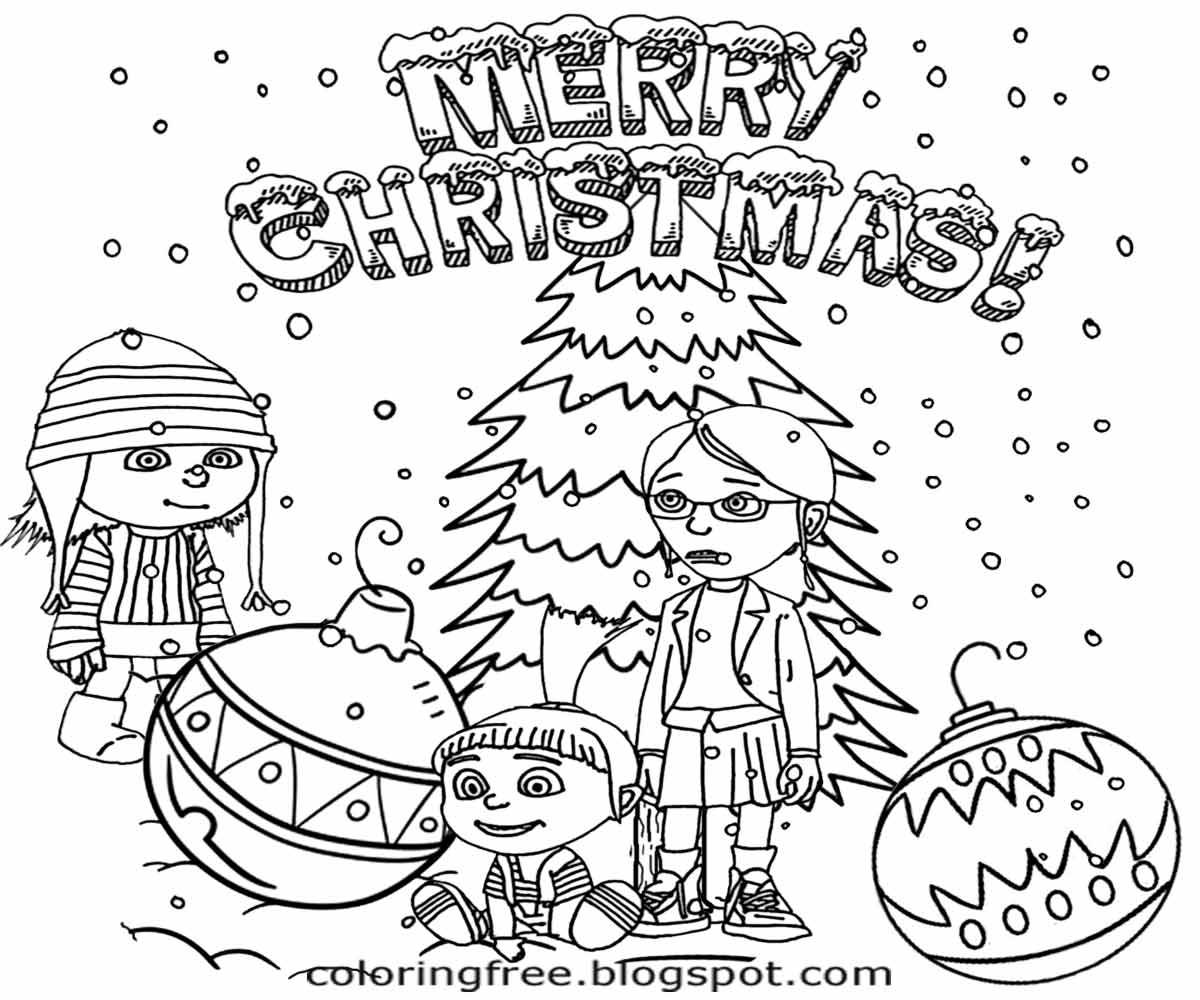 Christmas Drawing At Getdrawings