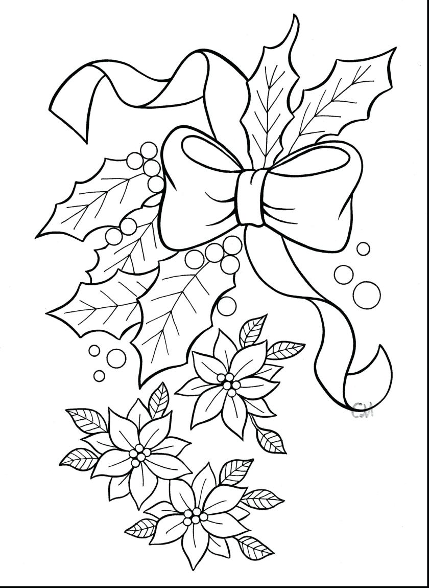 christmas poinsettia drawing at getdrawings  free download