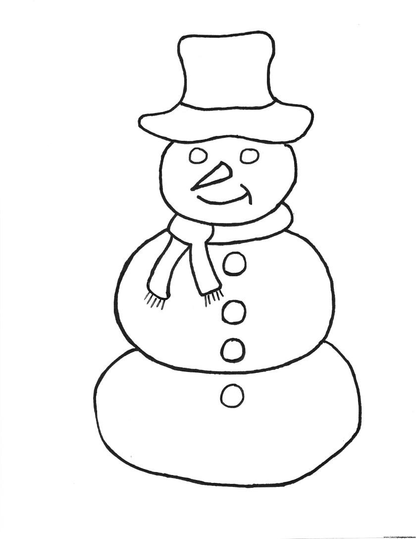 christmas snowman drawing at getdrawings  free download