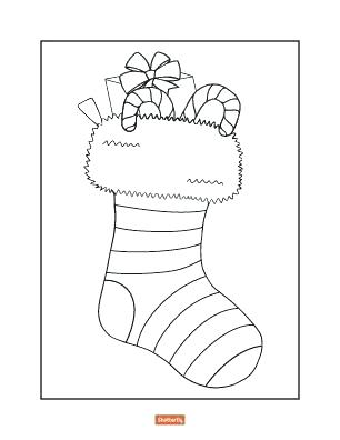 Christmas Stockings Drawing At Free For