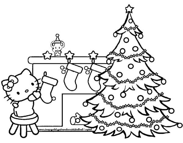 coloring pages christmas tree # 30