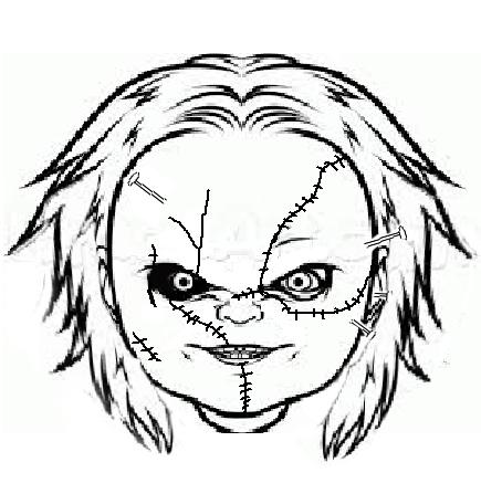 Chucky Doll Drawing At Getdrawings Com Free For Personal Use