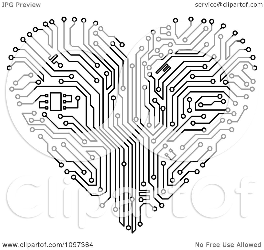 Circuit Board Graphic Design