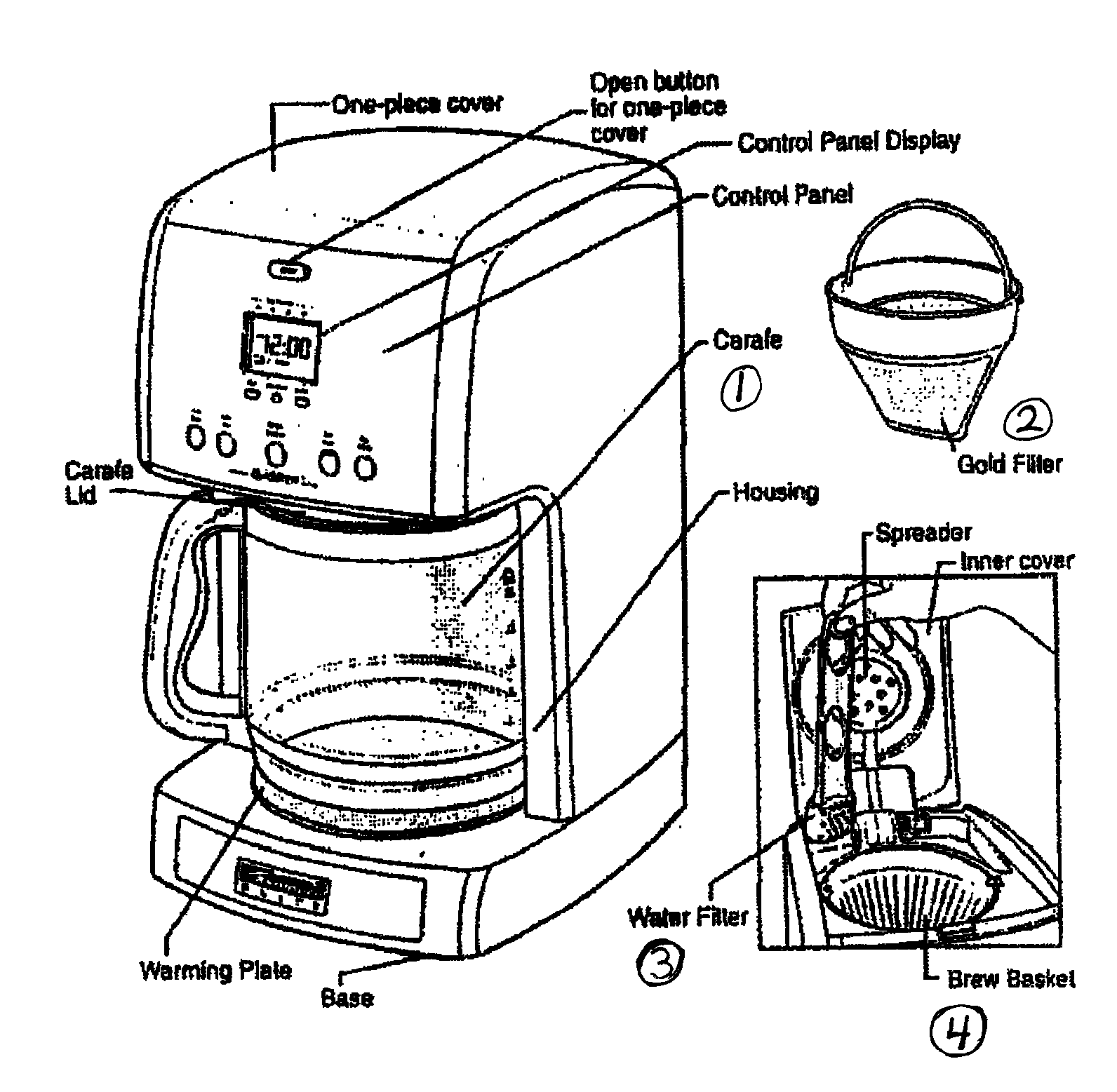 Coffee Maker Drawing At Getdrawings