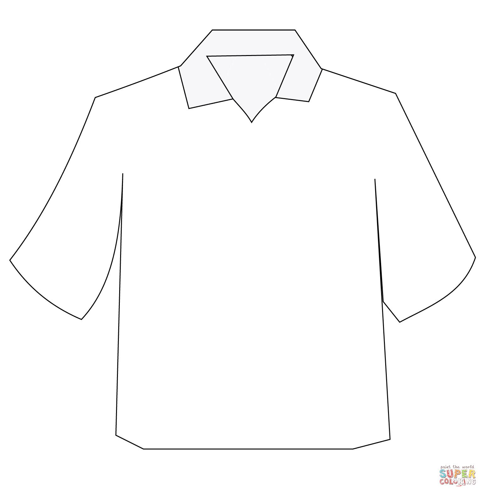 Collar Shirt Drawing At Getdrawings