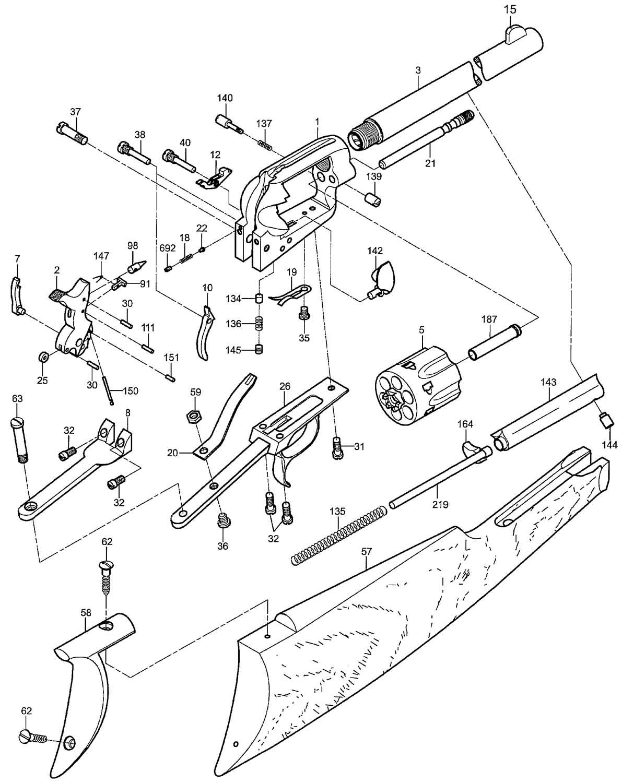 Revolver Drawing At Getdrawings