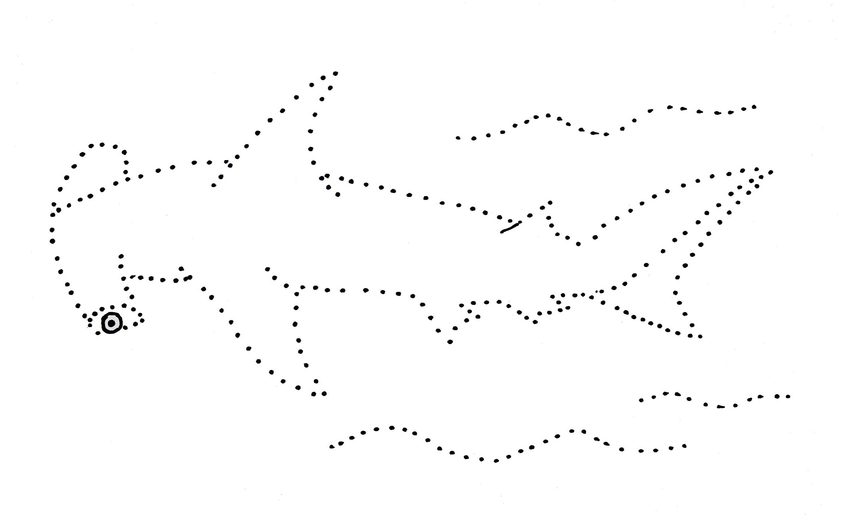 Connect The Dot Drawing At Getdrawings