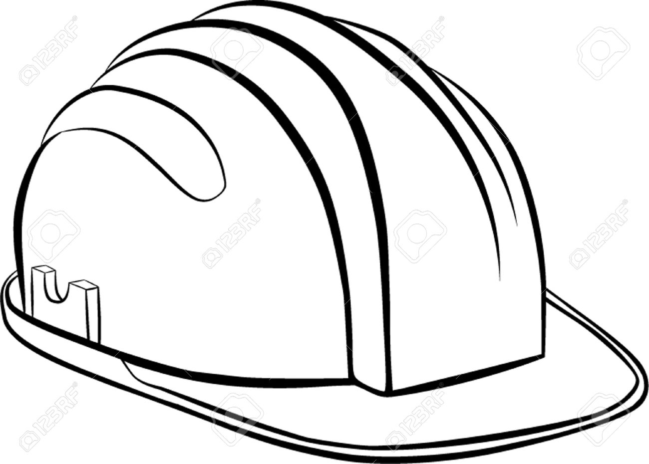 Construction Hat Drawing At Getdrawings